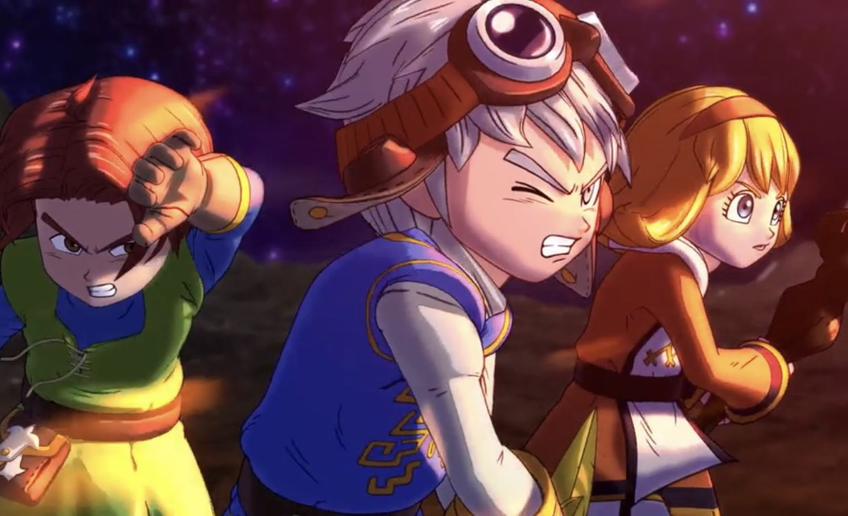 DRAGON QUEST OF THE STARS - Flash Review