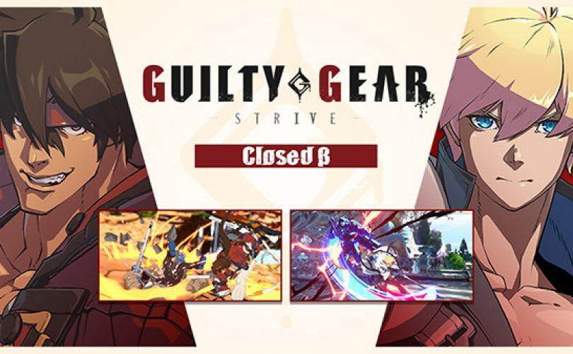Closed Beta per GUILTY GEAR -STRIVE- in arrivo, ecco come iscriversi
