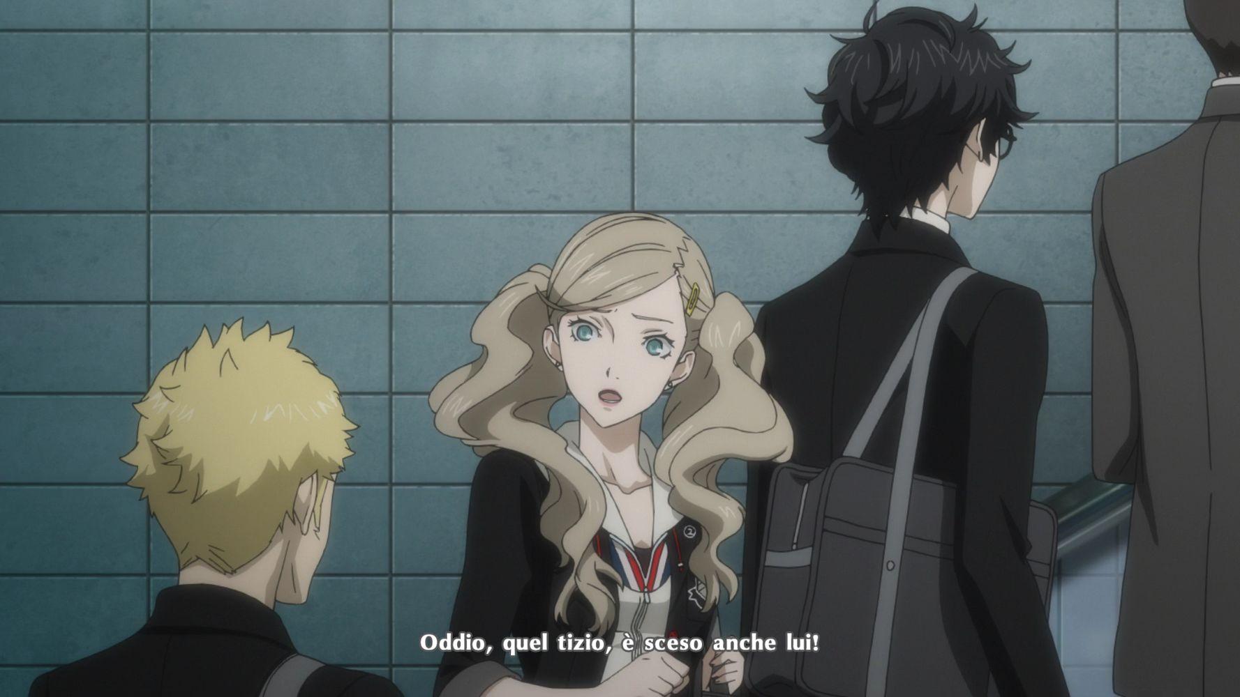 Cutscene animata con Ryuji, Ann e Ren, Persona 5 Royal