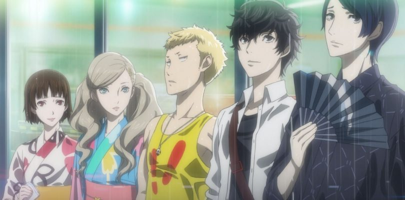 Cutscene animata in Persona 5 Royal