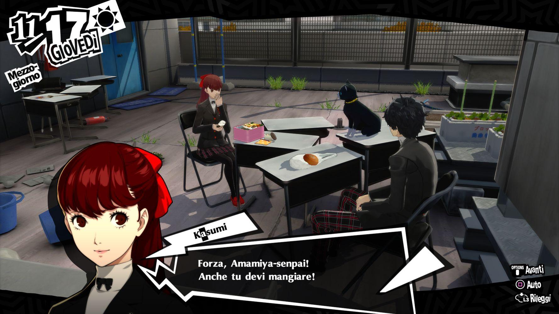 Protagonista e Kasumi, Persona 5 Royal