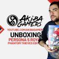 VIDEO – Persona 5 Royal: Phantom Thieves Edition UNBOXING