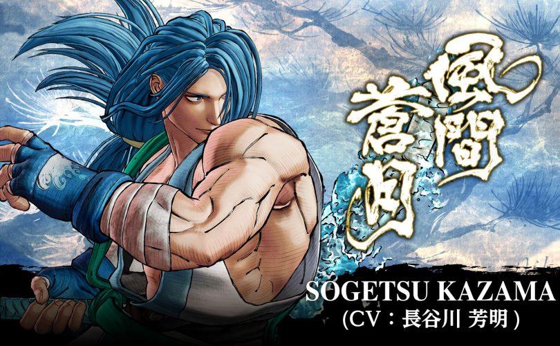 SAMURAI SHODOWN: Sogetsu Kazama arriverà ad aprile