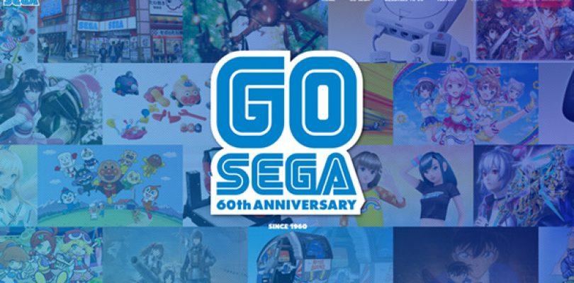 SEGA lancia il sito per il suo sessantesimo anniversario