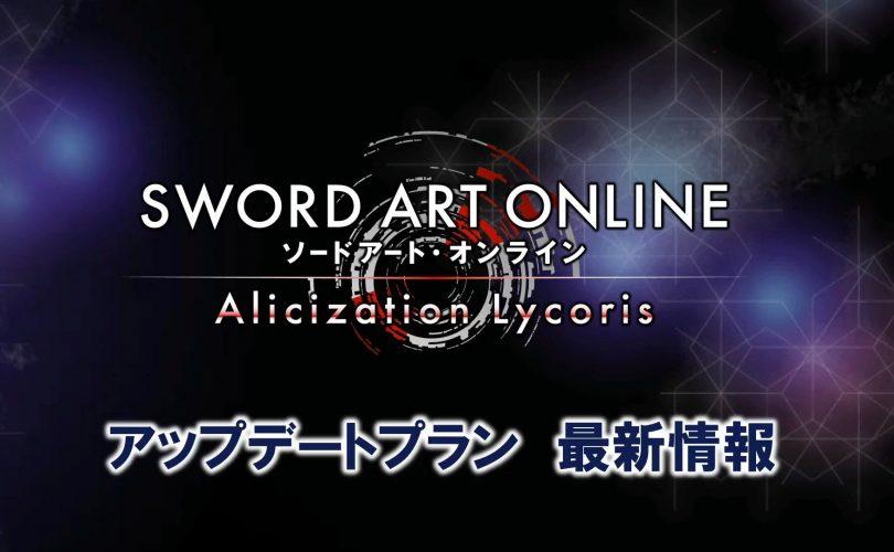 SWORD ART ONLINE Alicization Lycoris: annunciati i contenuti post lancio
