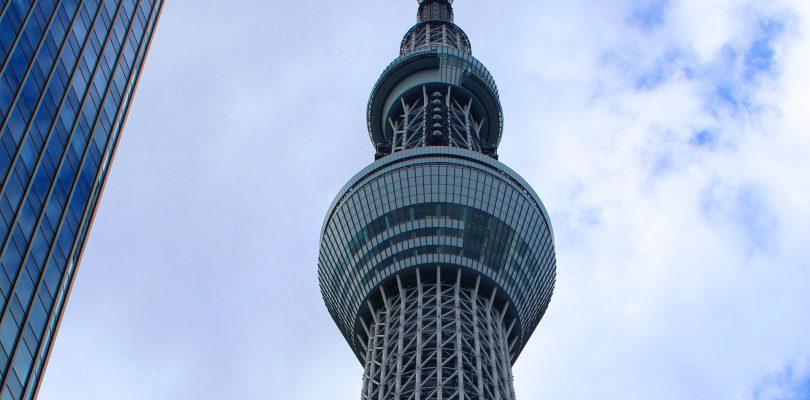 La TOKYO SKYTREE incoraggia gli italiani in Giappone