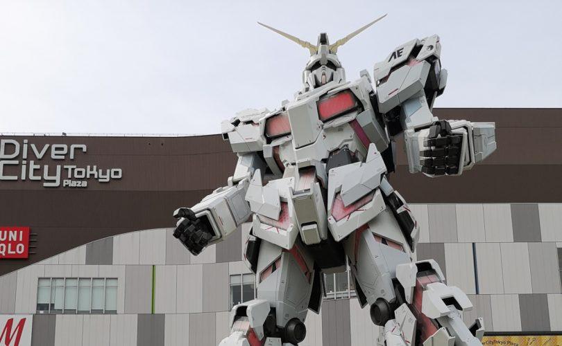 Gundam: un nuovo video debutta vicino allo Unicorn Gundam di Odaiba