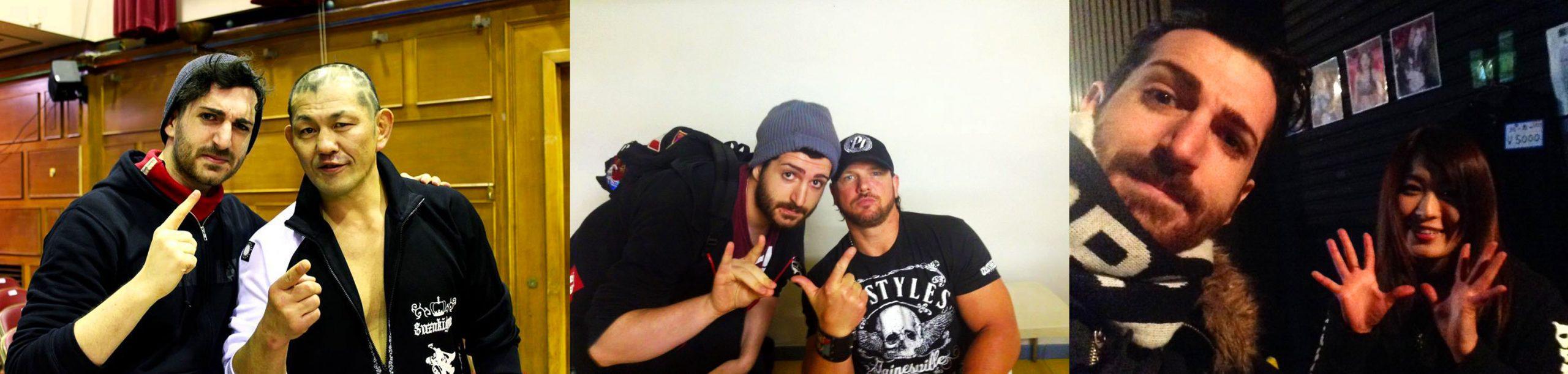 Ricordatevi di fotografarvi assieme ai vostri wrestler preferiti!
