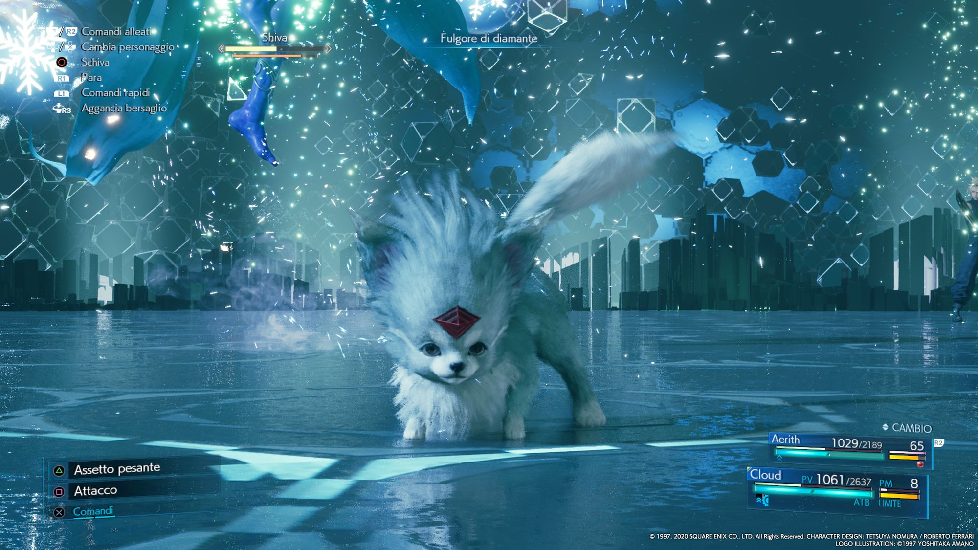 La Materia di Invocazione Carbuncle in FINAL FANTASY VII REMAKE