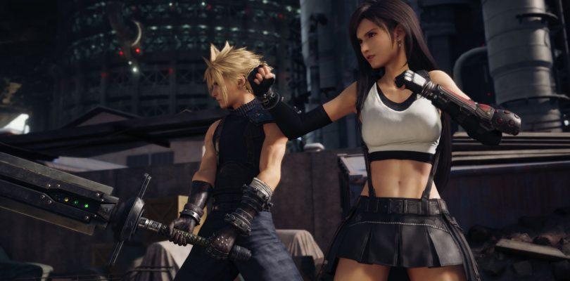 Cloud e Tifa si preparano al combattimento