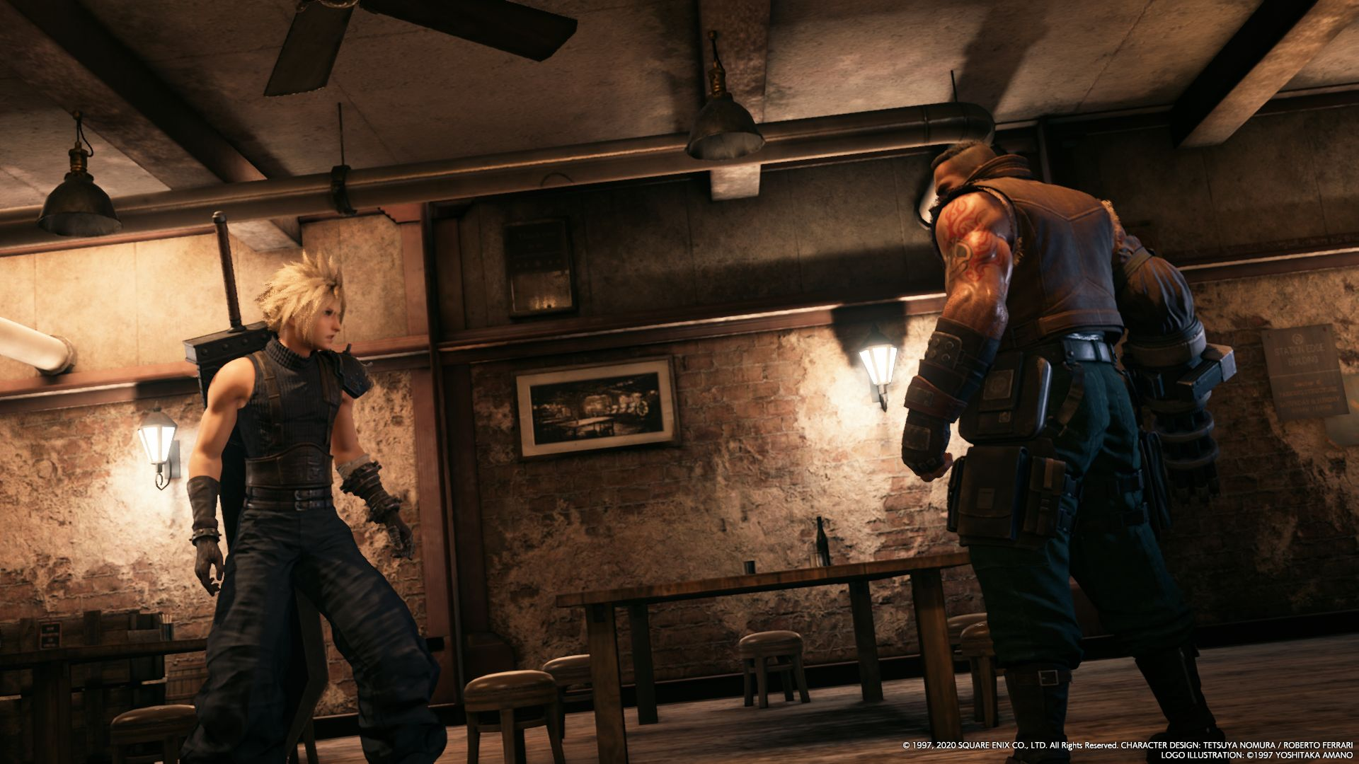 Cloud e Barret / FINAL FANTASY VII REMAKE