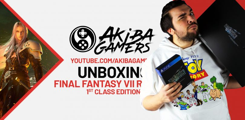 VIDEO – FINAL FANTASY VII REMAKE 1st Class Edition UNBOXING