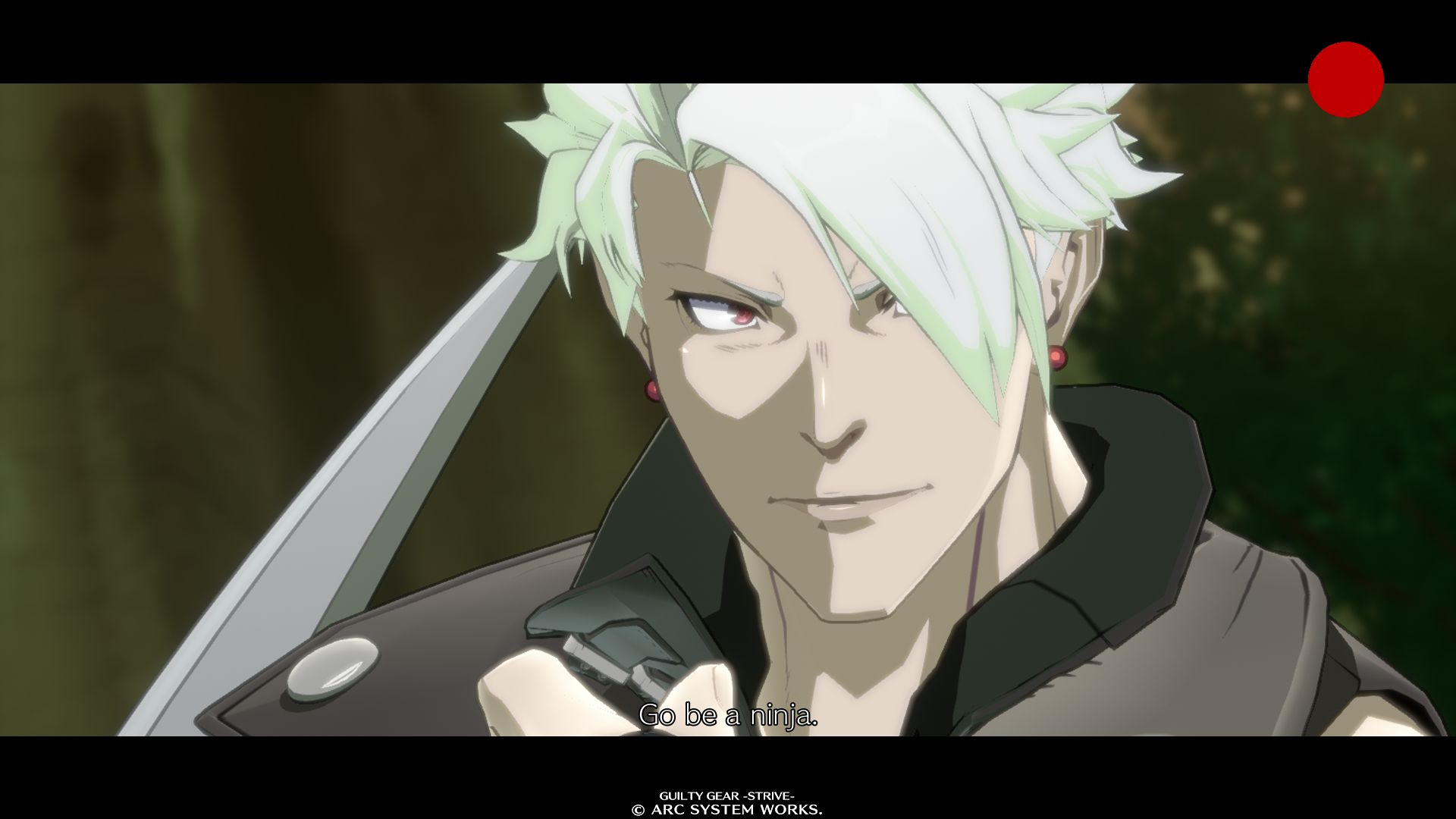 Chipp Zanuff in GUILTY GEAR -STRIVE-