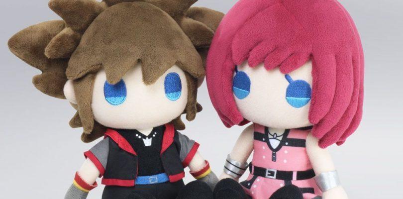 KINGDOM HEARTS III: arrivano i plushie di Sora e Kairi