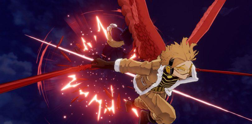 MY HERO ONE'S JUSTICE 2: trailer di debutto e immagini per Hawks