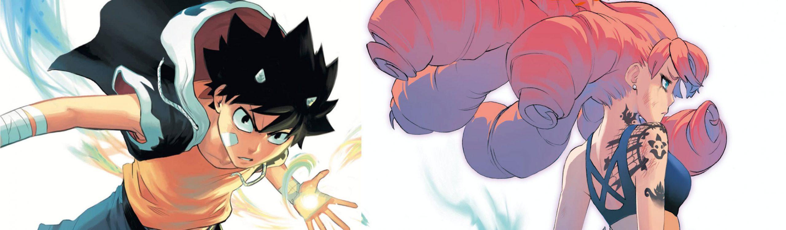 Radiant, il manga di Tony Valente
