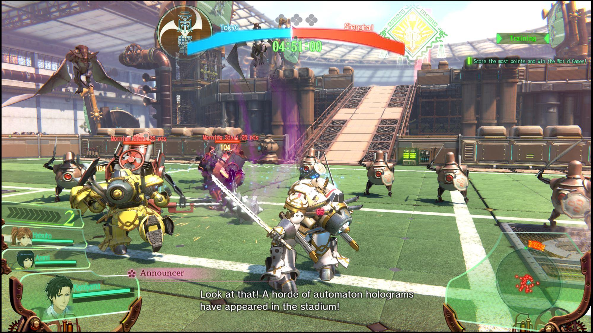 Il sistema di combattimento di Sakura Wars