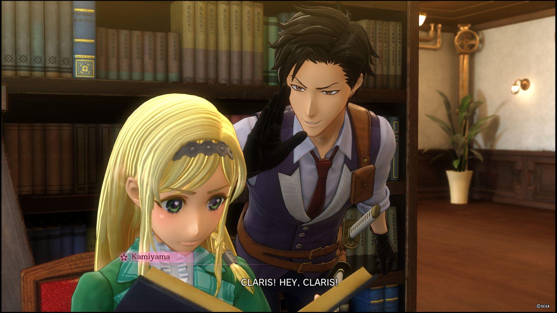 Kamiyama e Claris