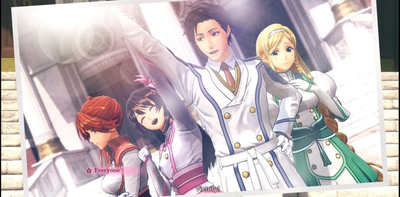 Posa di vittoria - Sakura Wars