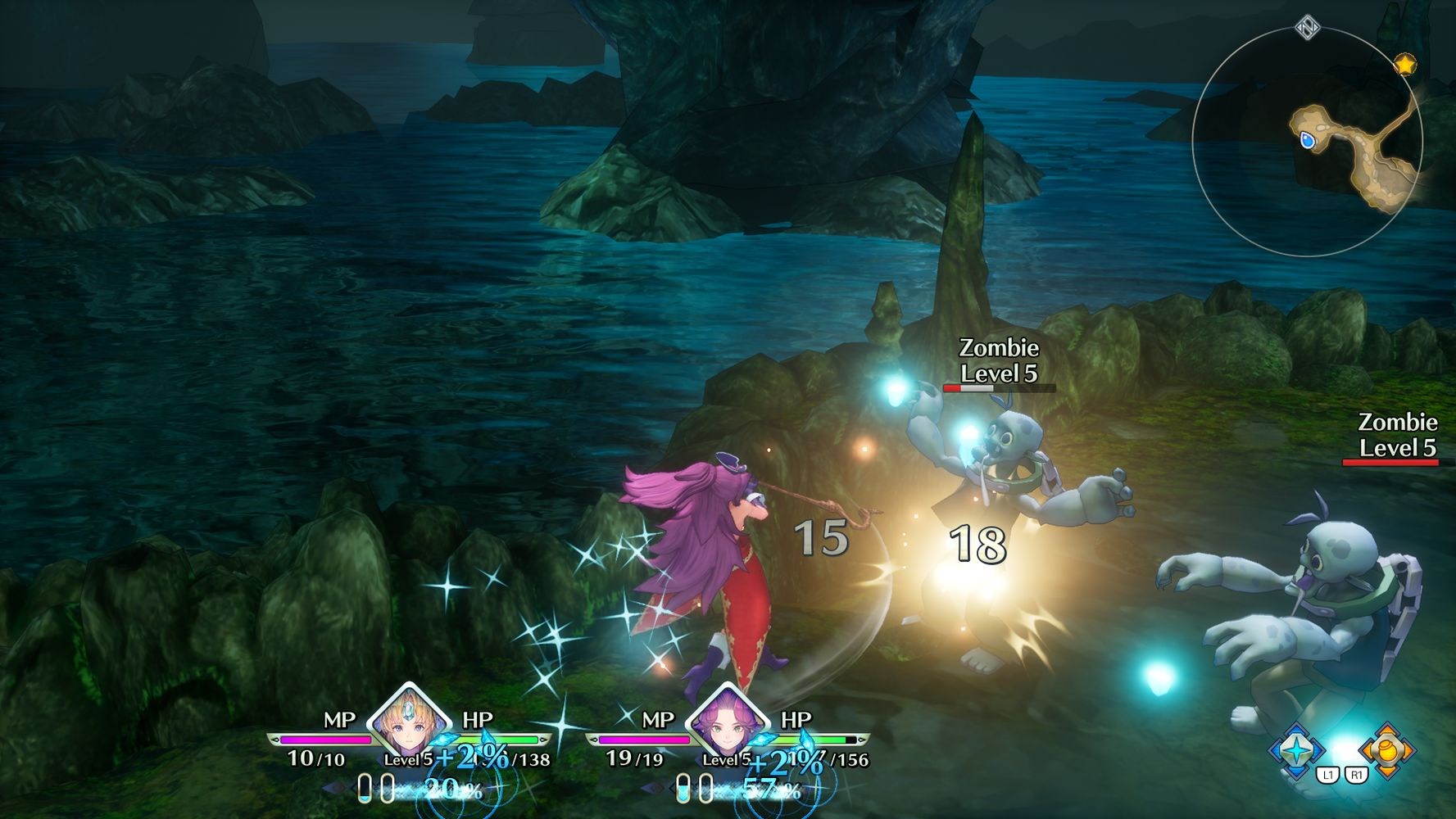 Battaglie del remake di TRIALS of MANA