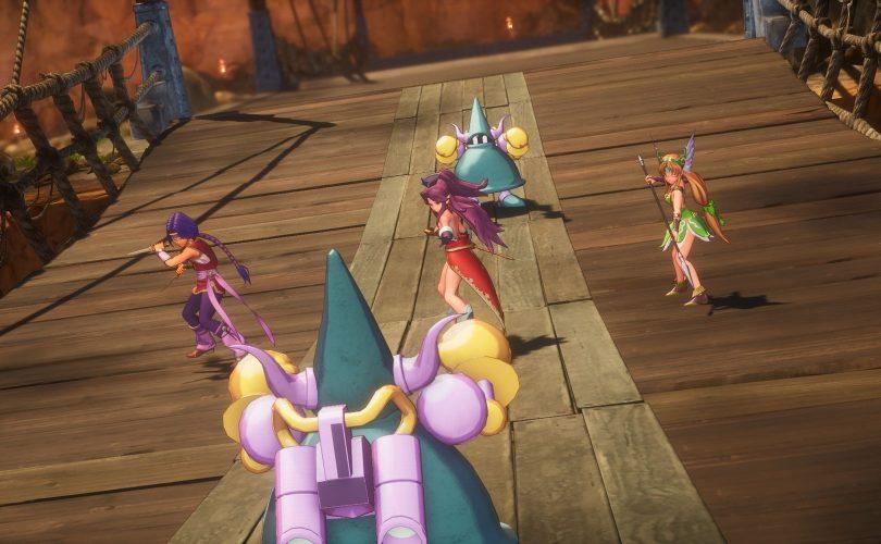Il party si prepara alla battaglia TRIALS of MANA