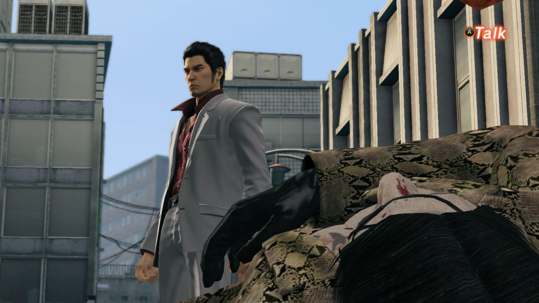 Zombie Majima sconfitto.