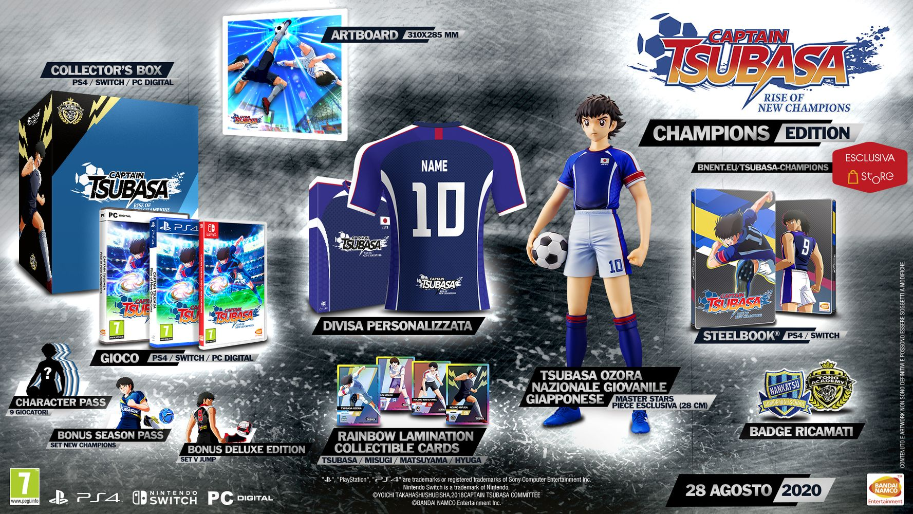 Champions Edition - Captain Tsubasa: Rise of New Champions