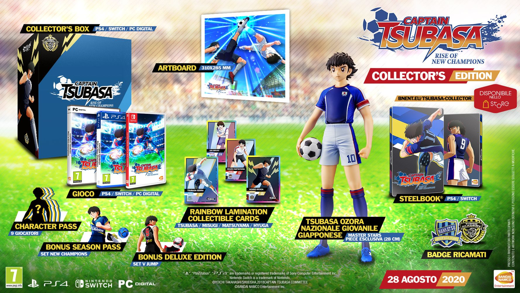 Collector's Edition - Captain Tsubasa: Rise of New Champions
