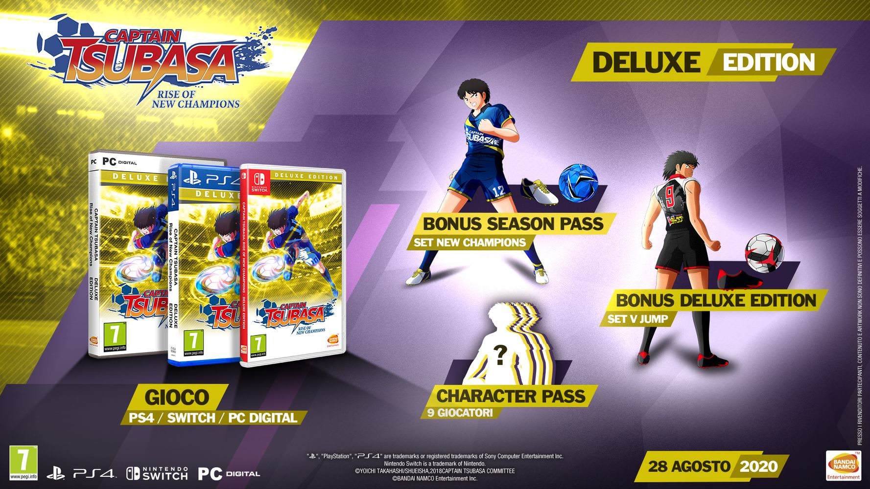 Deluxe Edition - Captain Tsubasa: Rise of New Champions