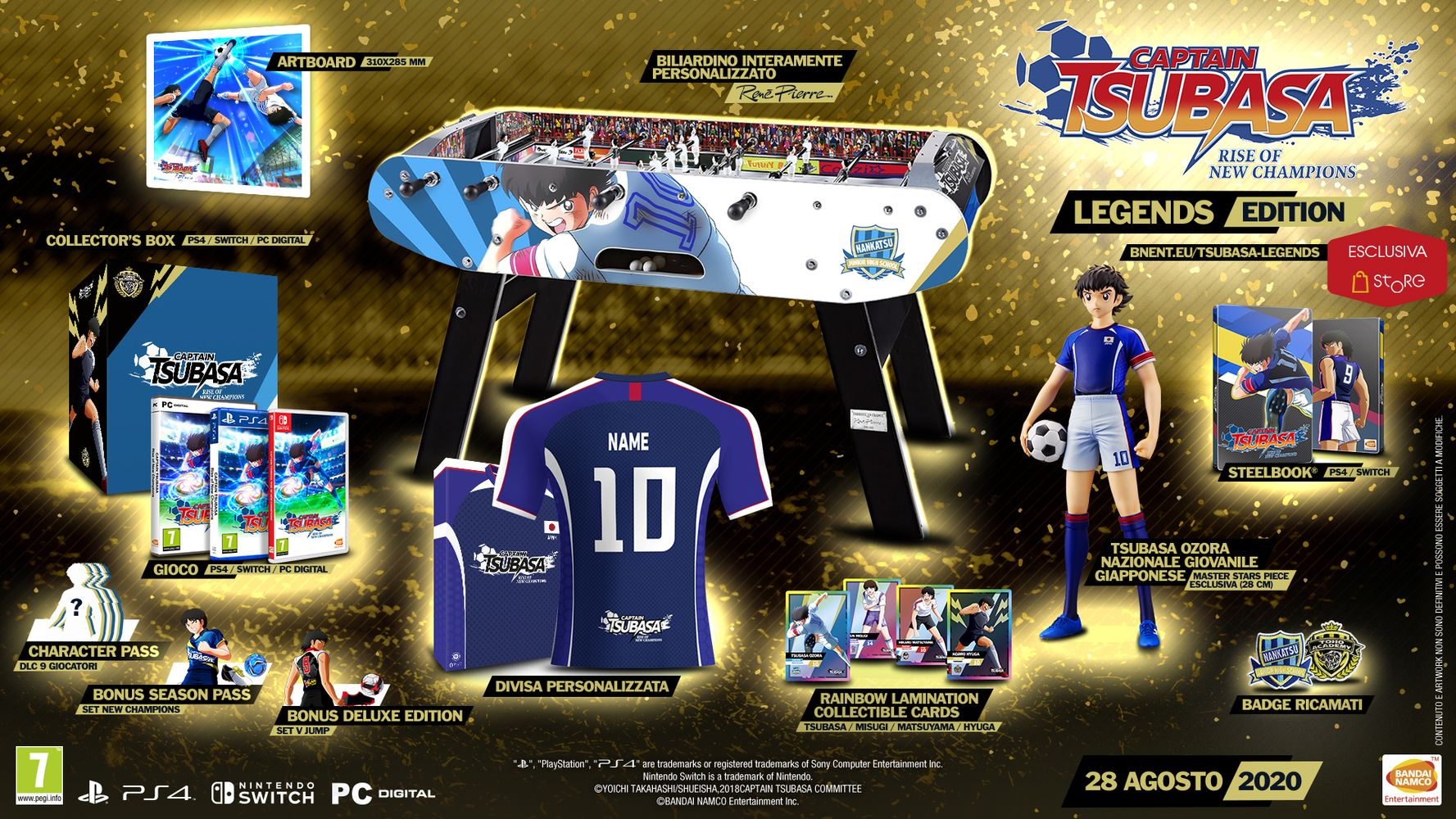 Legends Edition - Captain Tsubasa: Rise of New Champions
