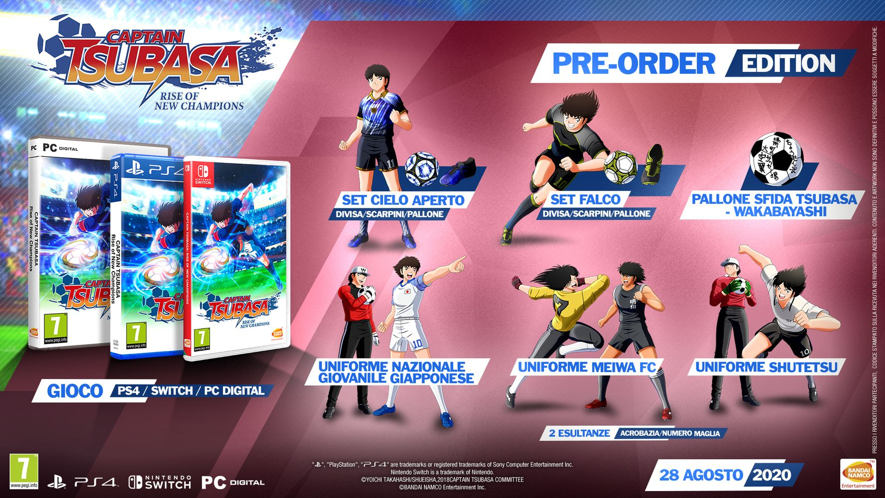 Standard Edition - Captain Tsubasa: Rise of New Champions