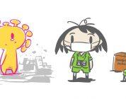 Corona-kun è il protagonista di un nuovo manga in corso in Giappone
