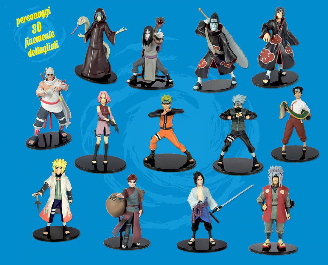 NARUTO SHIPPUDEN: DeAgostini lancia la collezione di personaggi 3D