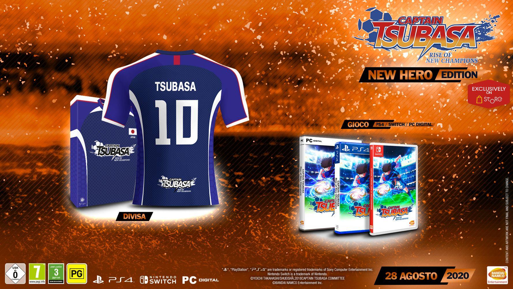 New Hero Edition - Captain Tsubasa: Rise of New Champions