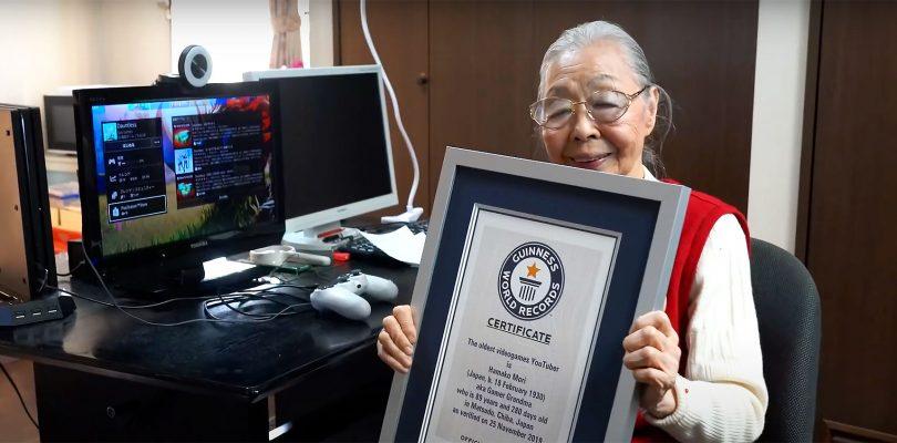 Giappone: Nonna Gamer di 90 anni conquista il Guinness World Record