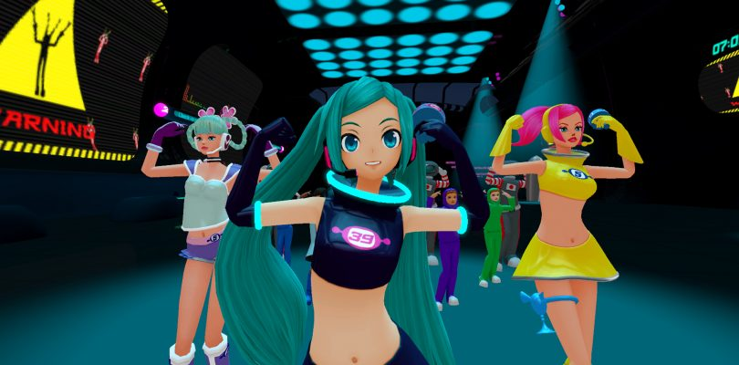Space Channel 5 VR: Kinda Funky News Flash! – Una data per il DLC Space 39 Miku Pack