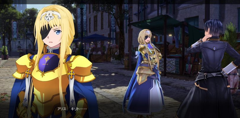 SWORD ART ONLINE Alicization Lycoris, gameplay per l'evento di Alice