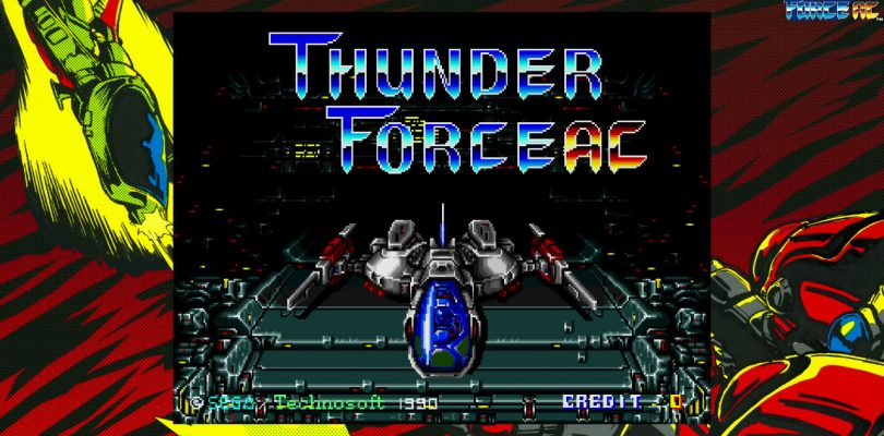 SEGA AGES Thunder Force AC arriva in Europa questo mese