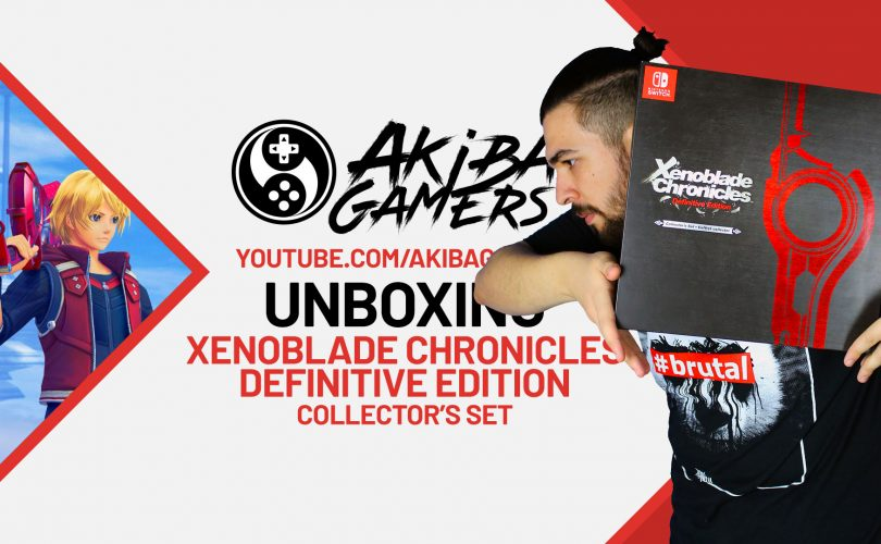 VIDEO – Xenoblade Chronicles: Definitive Edition Collector's Set UNBOXING