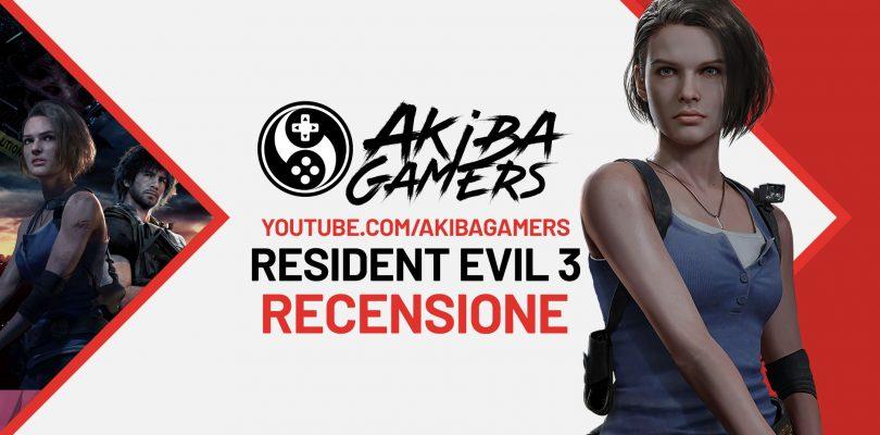 VIDEO Recensione – RESIDENT EVIL 3