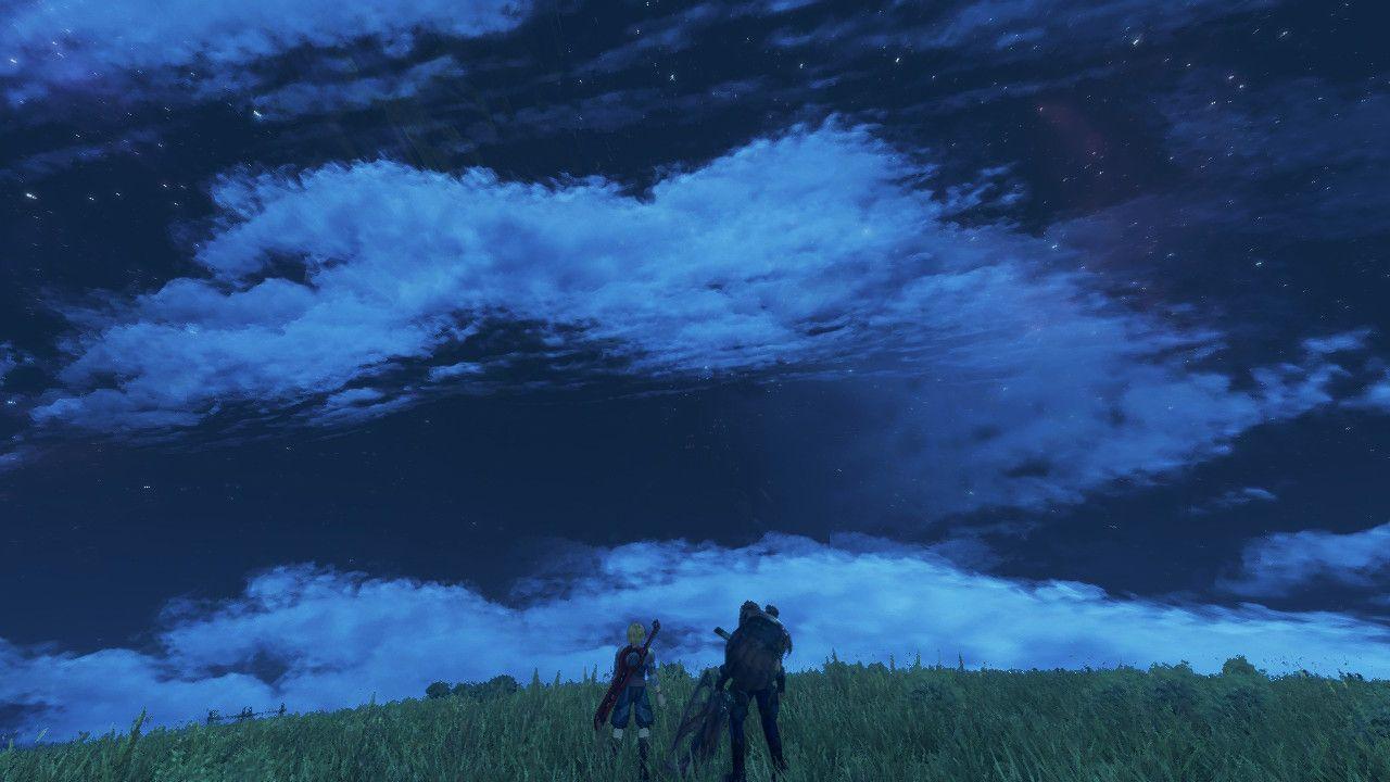 Shulk e Reyn in Xenoblade Chronicles: Definitive Edition