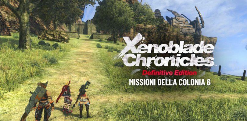 Xenoblade Chronicles: Definitive Edition - Missioni della Colonia 6