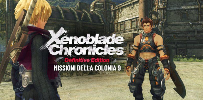 Xenoblade Chronicles: Definitive Edition - Missioni della Colonia 9