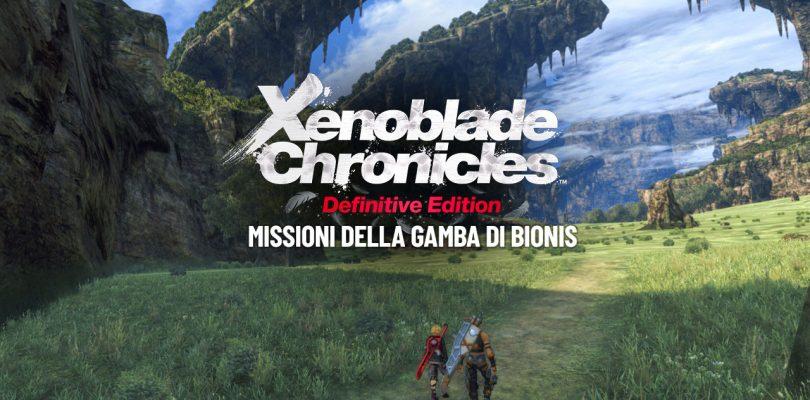Xenoblade Chronicles: Definitive Edition - Missioni della Gamba di Bionis