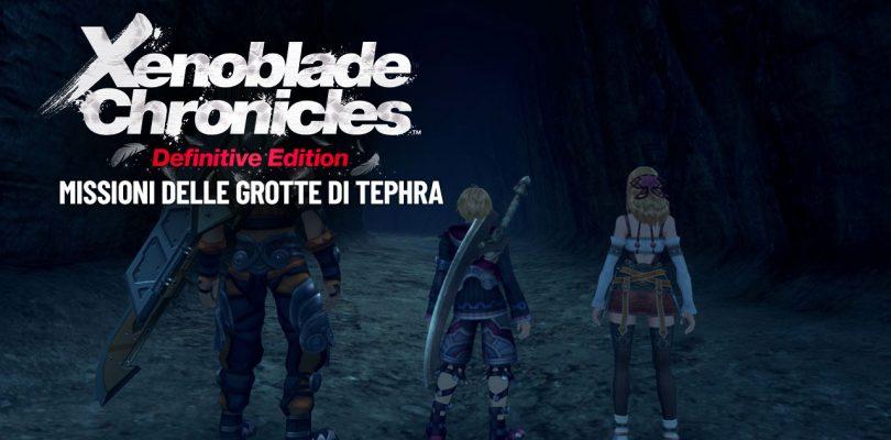 Xenoblade Chronicles: Definitive Edition - Missioni delle Grotte di Tephra