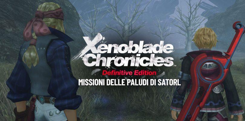 Xenoblade Chronicles: Definitive Edition - Missioni delle Paludi di Satorl