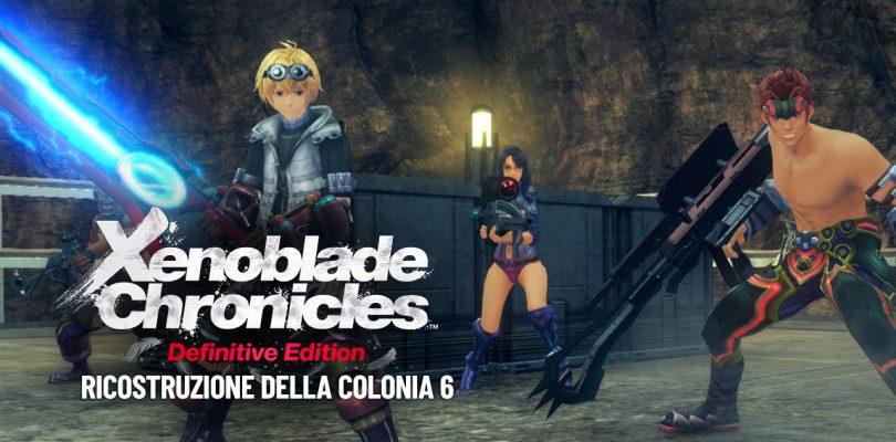Xenoblade Chronicles: Definitive Edition - Guida alla ricostruzione della Colonia 6