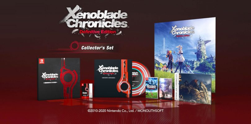 Xenoblade Chronicles: Definitive Edition – Collector's Edition: cosa contiene?