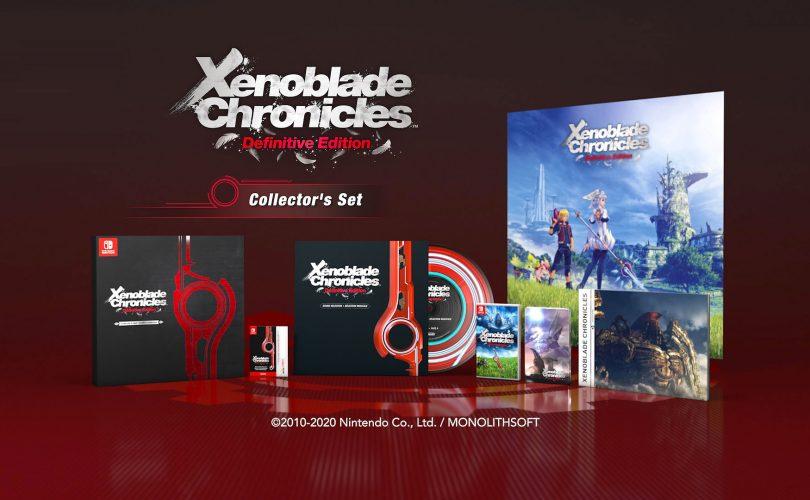 Xenoblade Chronicles: Definitive Edition – Collector's Edition: cosa contiene?