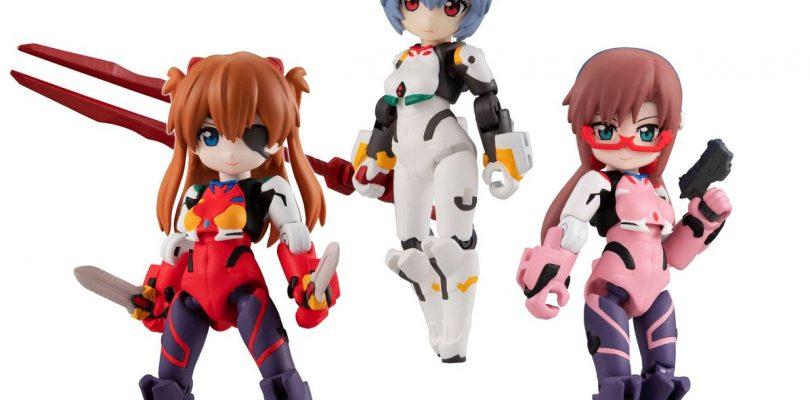 EVANGELION: ecco le Desktop Army di Asuka, Rei e Mari